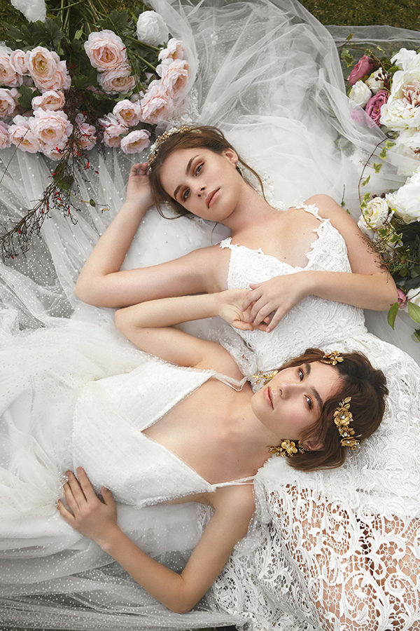 Girls wearing Jonida Ripani bridal adornments